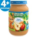 Пюре Bebelan 190g плод.круши и ябълки/без добавена захар/4м......
