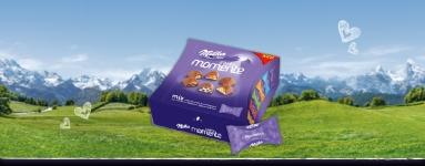 Ш-ви Бонбони Milka 169g моменти асорти