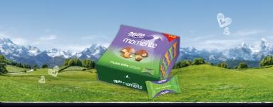 Бонбони шоколадови Milka 169g моменти ядки*-****......