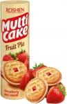 Бисквити Roshen Multi cake 195g ягода