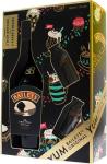 Ликьор Бейлис Baileys 700ml+2ве мини бутилки+6хартиенни сламки*-****.......