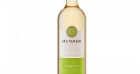 Вино бяло Менада 750ml траминер *-****