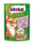 храна за живот.Kite Kat 100g сьомга