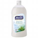 сапун течен Medix 900ml sensitive бял