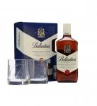 Уиски Ballantines 700ml+2чаши
