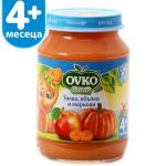 Пюре Bebelan 190g плод.тиква с ябълки и моркови 4м......