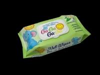 Кърпи мокри 72бр.Gu-Gu Ga-Ga с капак зелени