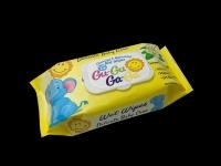 Кърпи мокри 72бр.Gu-Gu Ga-Ga с капак жълти