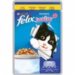 Храна за котка Felix 100g junior пиле--