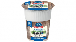 Мляко кисело краве 400g Olympus 3,6%