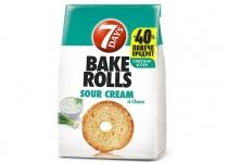 Сухар Bake Rolls 80g сметана и лук