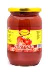 Буркан домати Кръстев 680g/385g отцедени цели небелен......