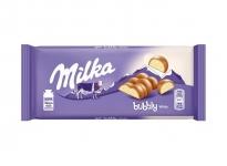 Ш-д Milka 90g/95g Bubbly бял