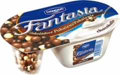 Данон 100g фантазия шоколадово топче