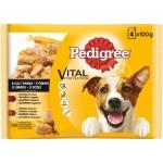 Храна за куче Pedigree 4*100g /2ве гов-агн-2ве пуеш-морк/*-****......