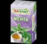 Чай Теаселект 20g мента 20бр*1g филтър без конец ......