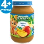 Пюре Bebelan 190g плод.манго 4м