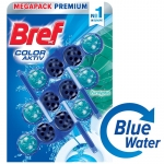 WC Bref premium 3*50g цветна вода топчета евкалипт *-**** синя вода......