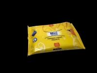 Кърпи мокри 25бр.Mini жълти лайка
