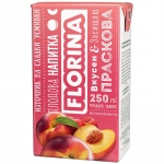 Florina 250ml сламка праскова