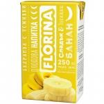 Florina 250ml сламка банан