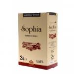 Вино червено 3L Sophia Карнобат *-****