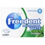 Дъвка Freedent professional white spermint-10stuks