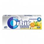 Дъвки ORBIT драже 14g-10бр.white fruit