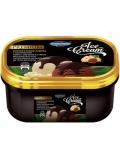 Сладолед Чичо Чарли кутия 2L Premium ванилов и какаов с лешников вкус......