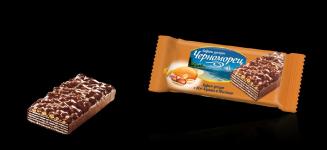 Вафлен десерт Черноморец 75g карамел и фъстъци*-**** ......
