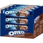 Бисквити Oreo 154g brownie*-****