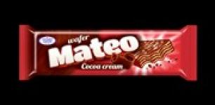 Вафла Матео 60g какао захарни заводи червени ......