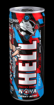 111111Енергийна напитка Hell 250ml геймър черна череша *-****......