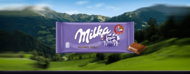 Ш-д Milka 100g млечен