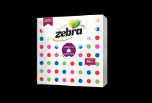 Салфетки Zebra 33/33 точки 45ка